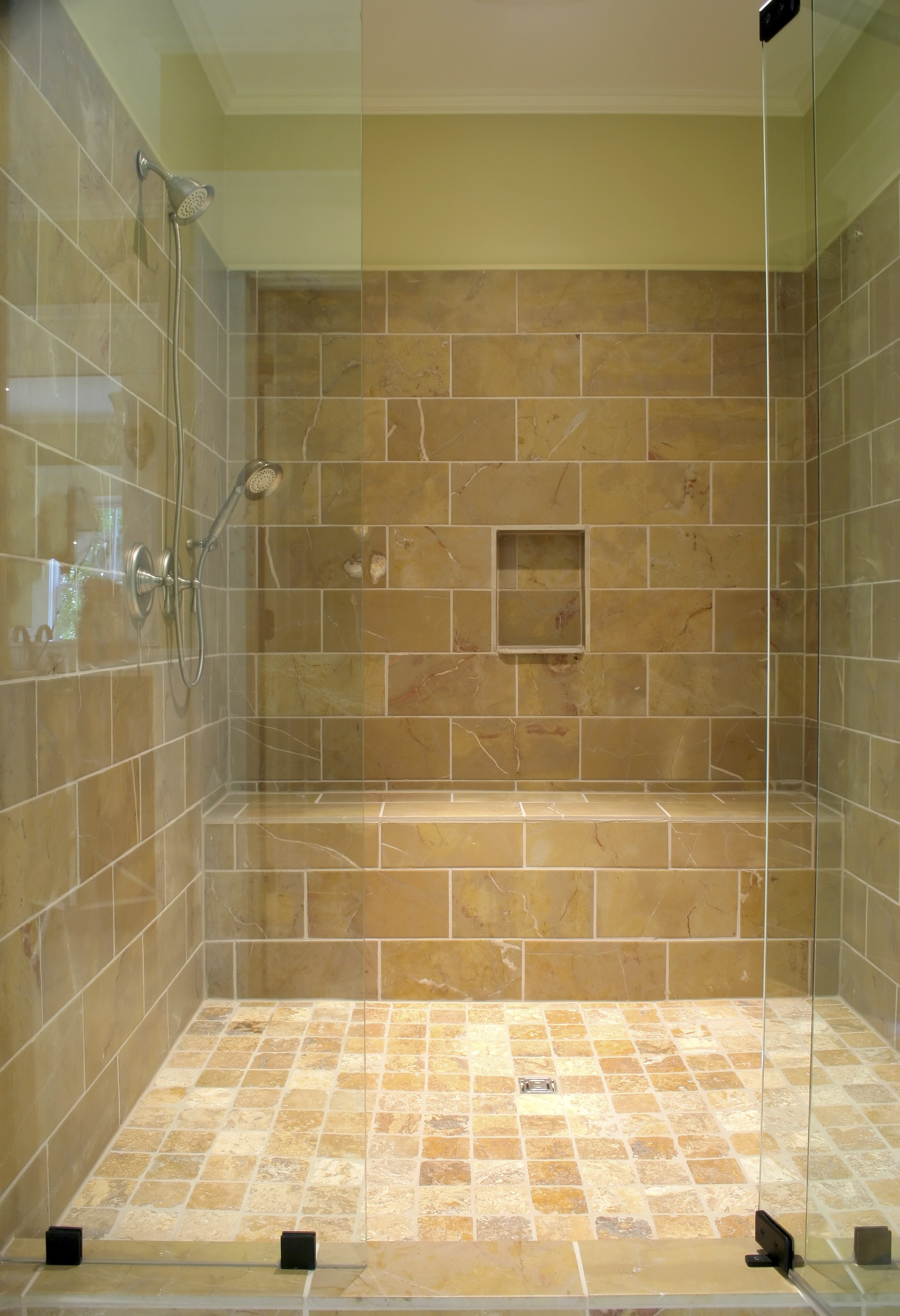 Shower with Bench and Niche | Noble Company